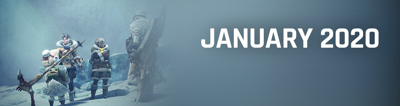 January 2020 video game release dates