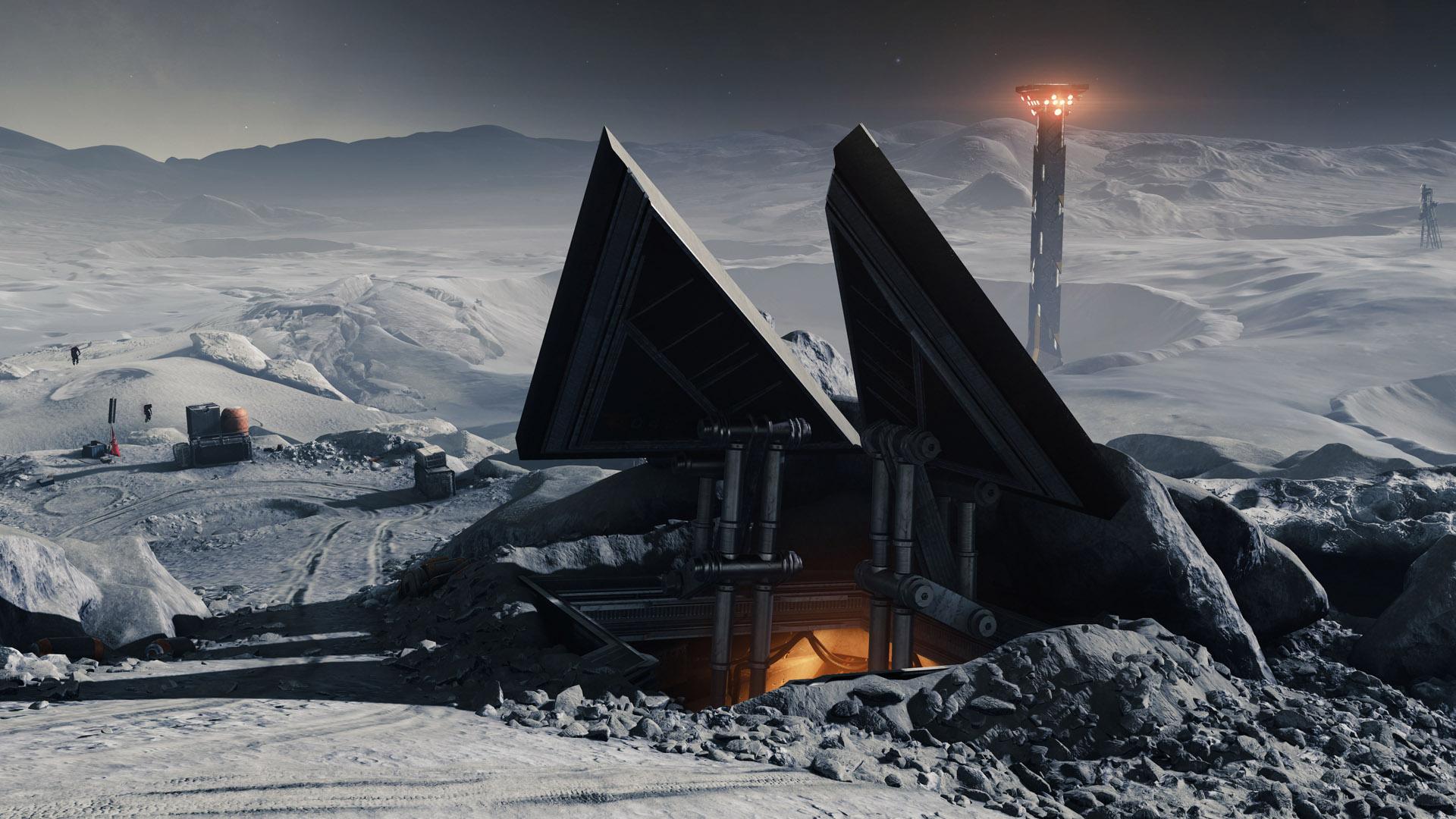 Destiny 2 Season of the Worthy moon bunker