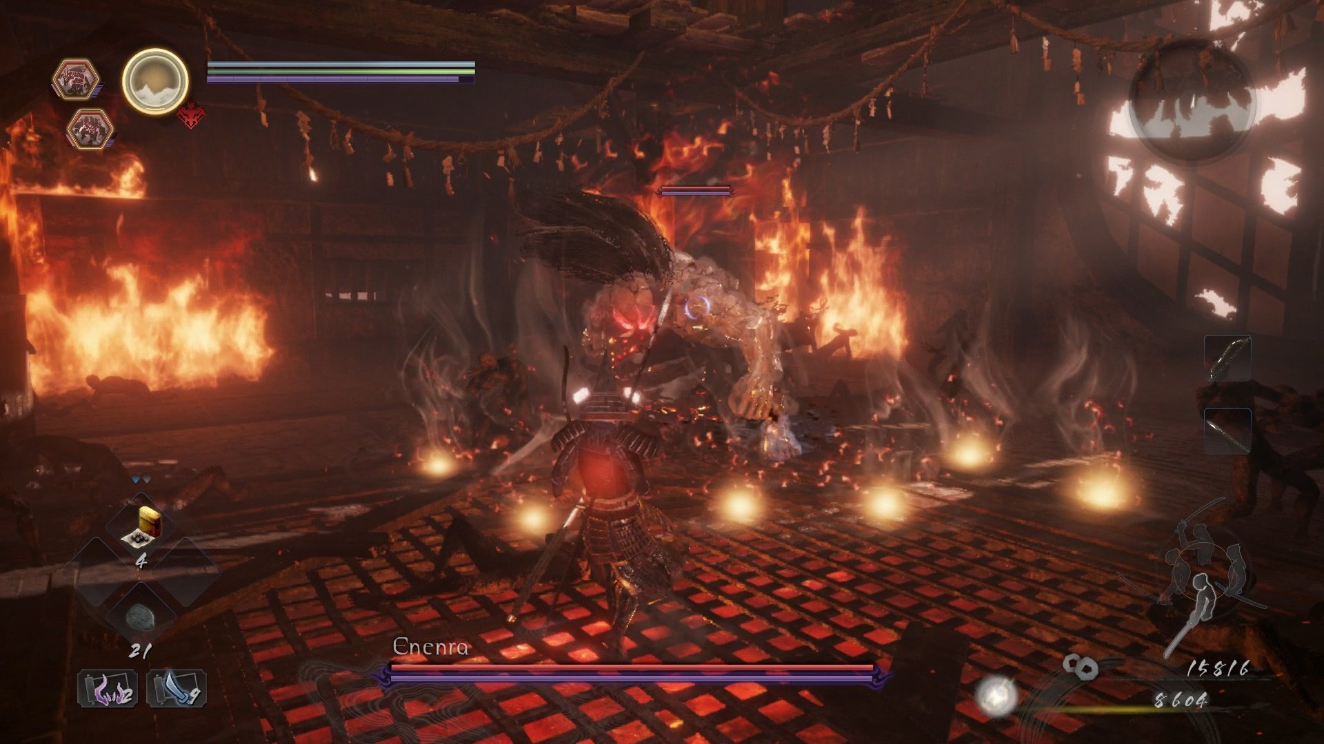 nioh 2 enenra boss fight