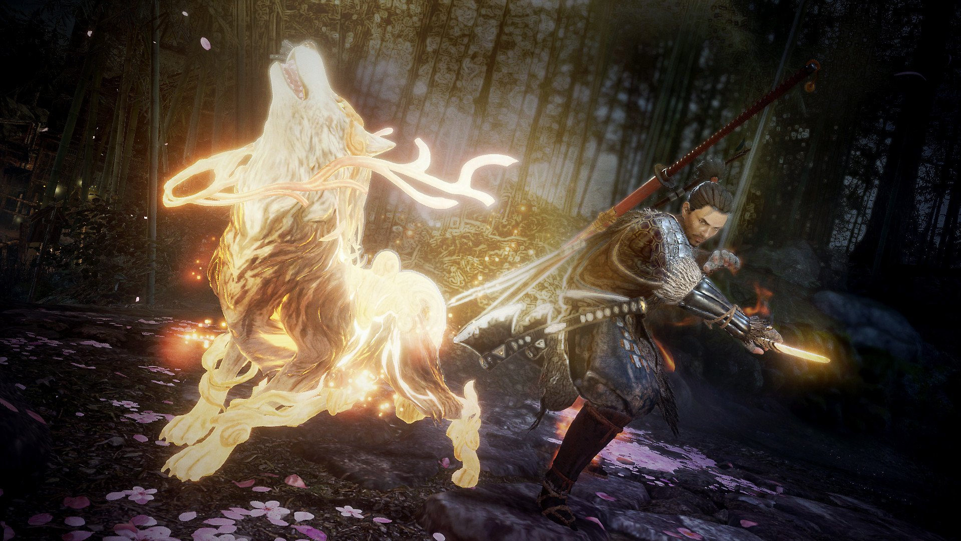 Nioh 2 review samurai and guardian spirit