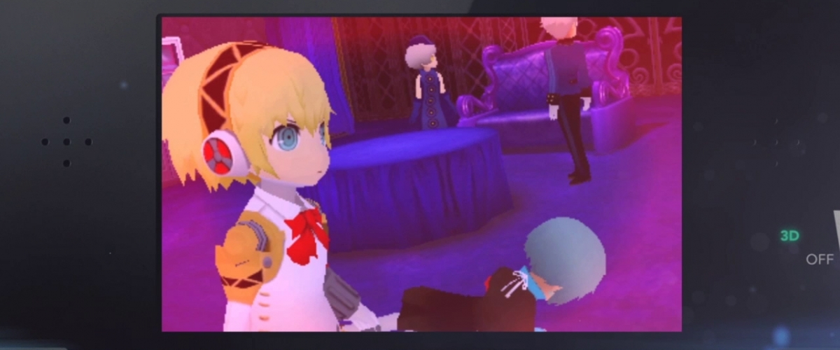 Persona Q Videos Introduce Rei And Aigis Shacknews