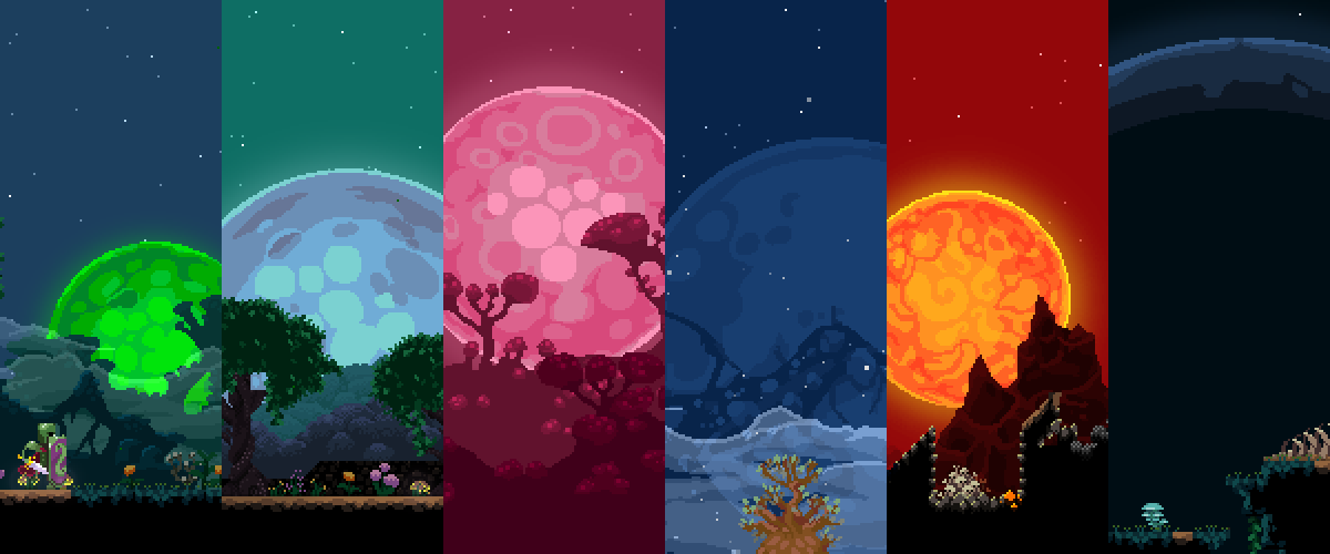 Moonman is a rogue-like adventure inspired by Spelunky and Terraria