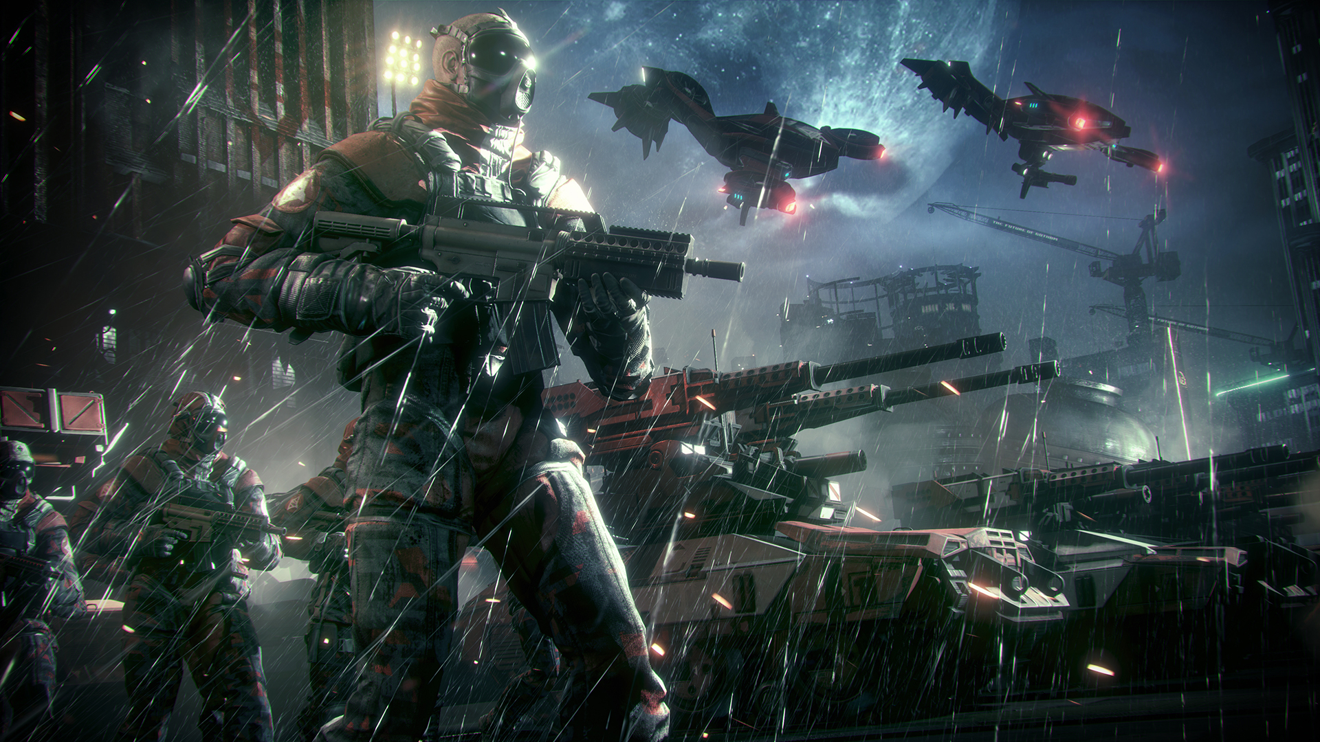 Batman Arkham Knight Own The Roads Militia Checkpoints Locations And Strategies Shacknews
