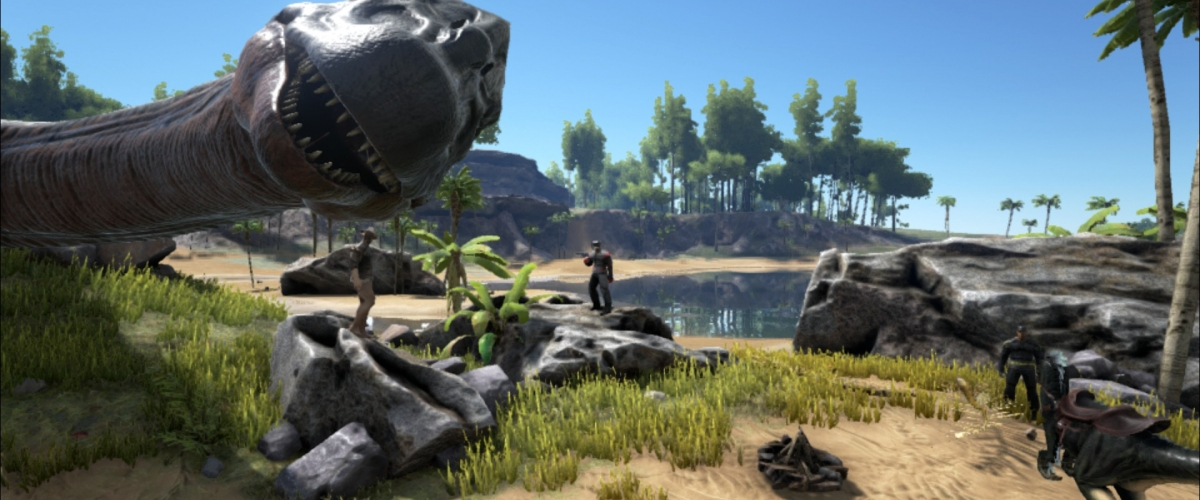 ARK: Survival Evolved does the dinosaur on Xbox One next