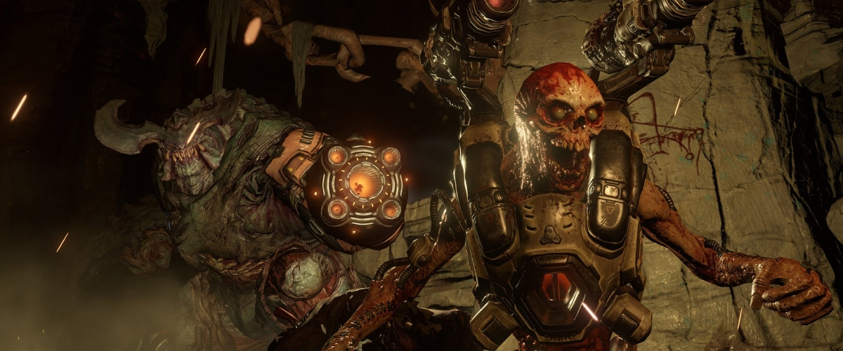 Doom will deliver 1080p at 60fps on PS4 and Xbox One   Shacknews