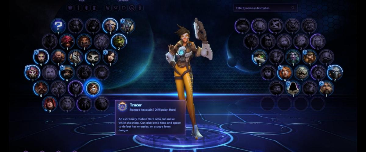 Heroes of the Storm Tracer Hero Gameplay Video   Shacknews