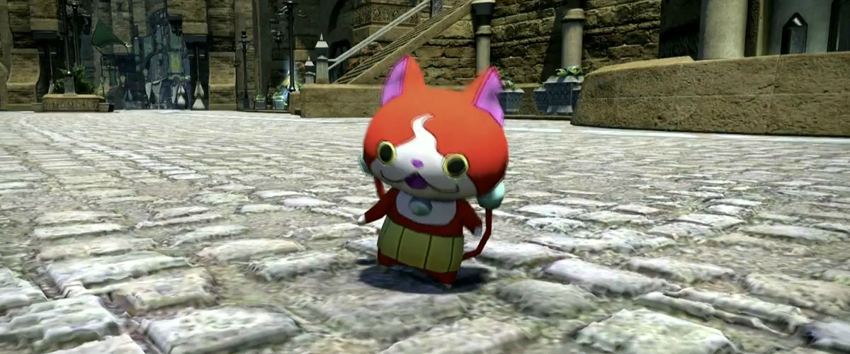 Familiar Yo Kai Watch Characters Are Invading Final Fantasy