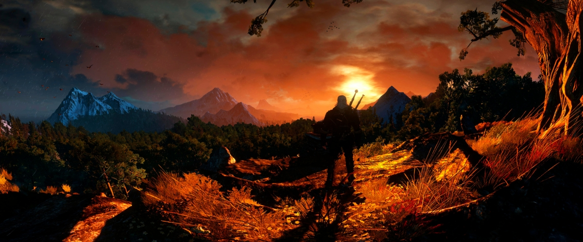 Image result for the witcher 3 sunset