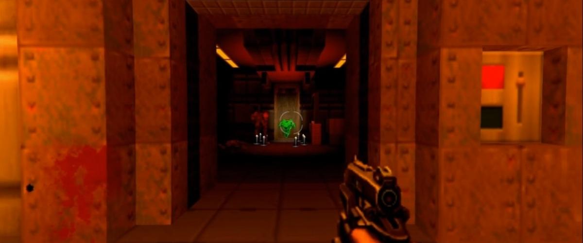 Doom 2016 tutorial map accurately recreated in Doom 2