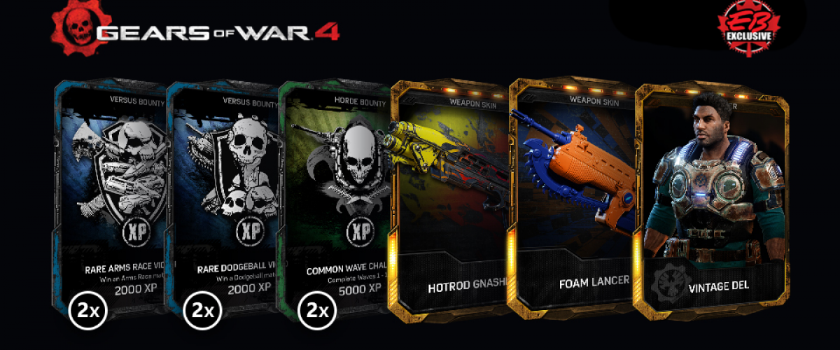 Gears of War 4: How To Get Scrap and Craft Cards | Shacknews