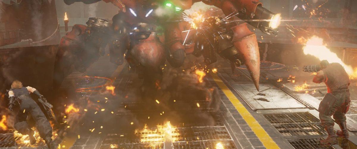 Resultado de imagem para guard scorpion final fantasy vii remake