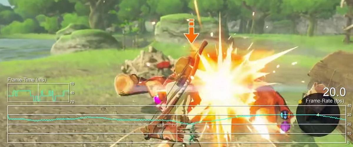 What If Zelda: Breath of the Wild's Framerate Issues Are