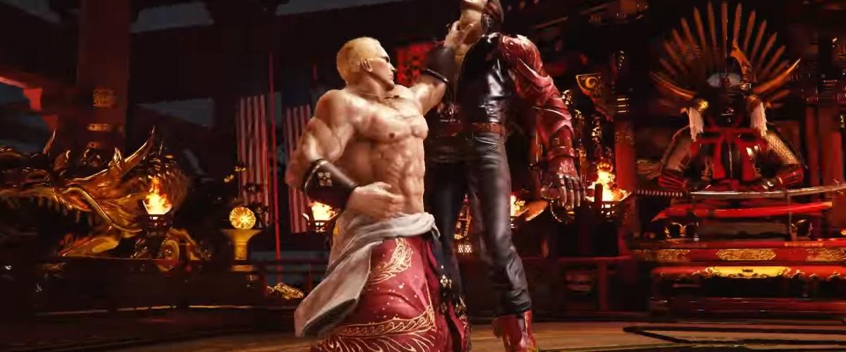 Evo 2017 Fatal Fury S Geese Howard Invades Tekken 7 As Dlc Character Shacknews