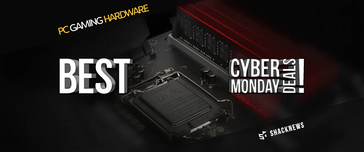 The Best Pc Gaming Cyber Monday 2017 Deals Shacknews