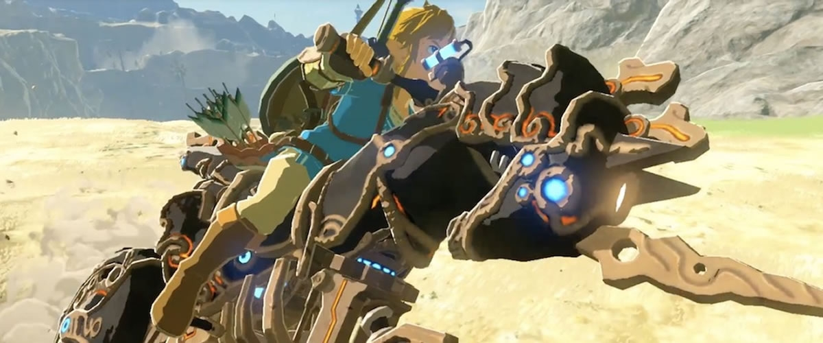 Zelda: Breath of the Wild - How To Unlock Master Cycle Zero