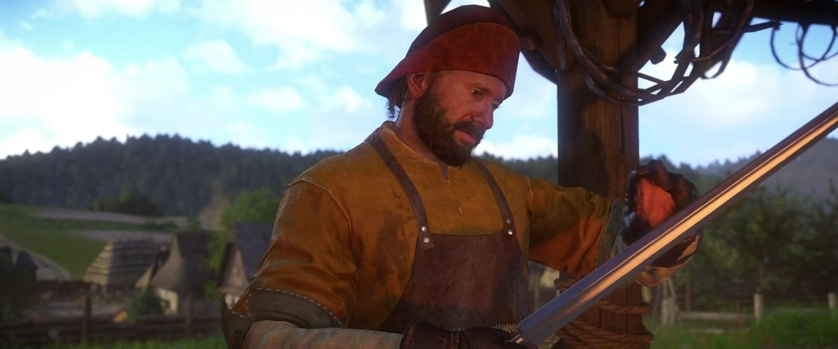 Kingdom Come: Deliverance - How To Clean Blood Off Weapons/Clothing