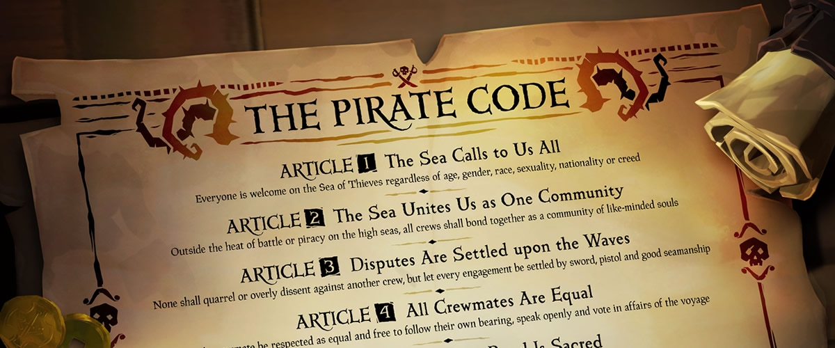 What is The Pirate Code in Sea of Thieves? | Shacknews