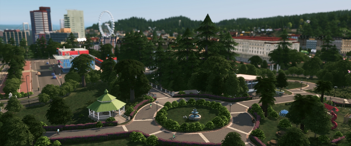 Cities: Skylines Takes a Walk in the 'Parklife' DLC in May
