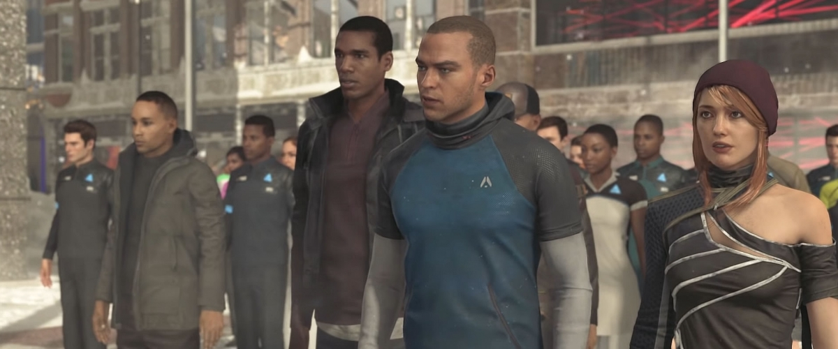 Freedom March - Detroit: Become Human | Shacknews