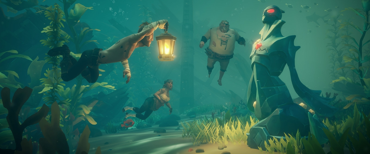 Where to Find Cursed Mermaid Statues in Sea of Thieves