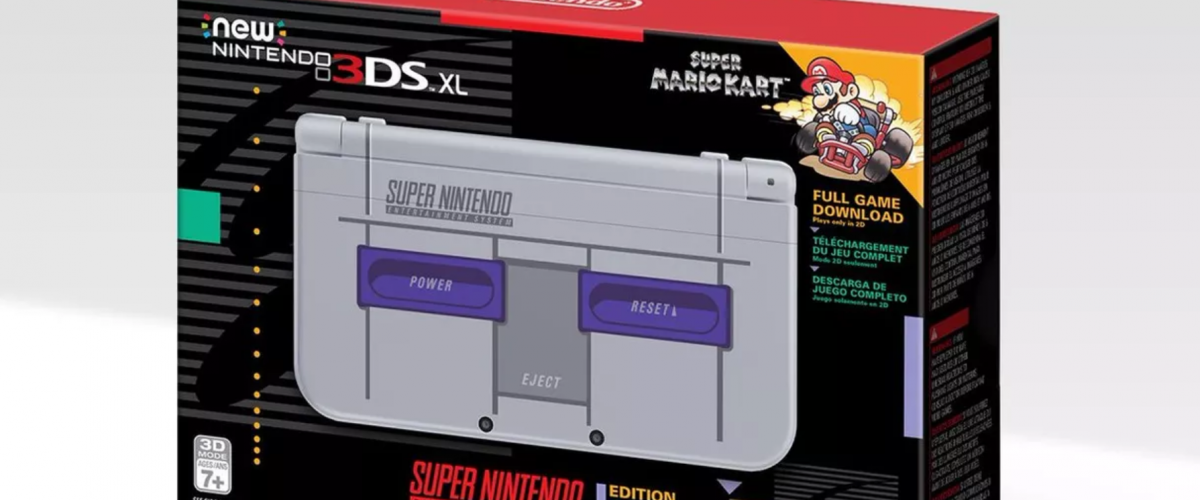 Amazon Prime Day Snes Edition New 3ds Xl With Super Mario Kart For