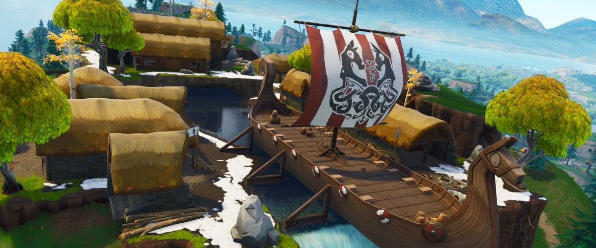 Fortnite Season 5 Gameplay Shows Off New Viking Ship And