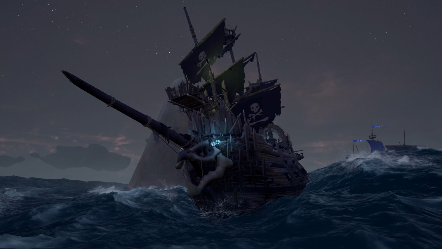 How to Kill Skeleton Ships in Sea of Thieves   Shacknews