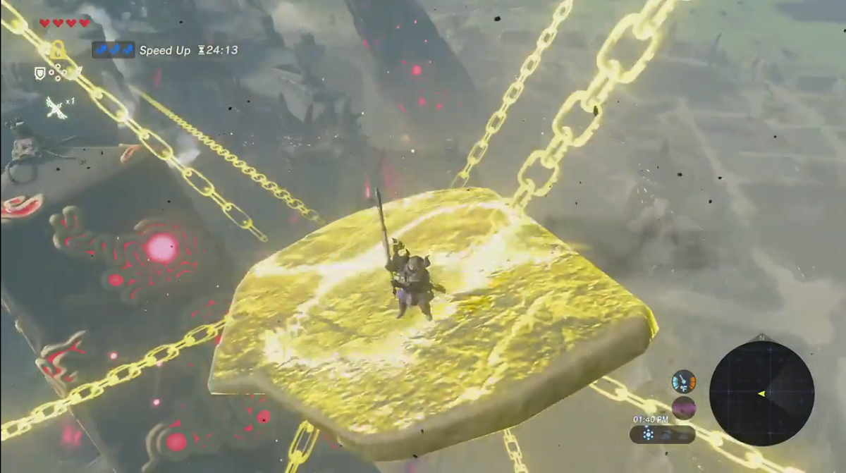 twitch streamer zant launches link to the top of hyrule castle using