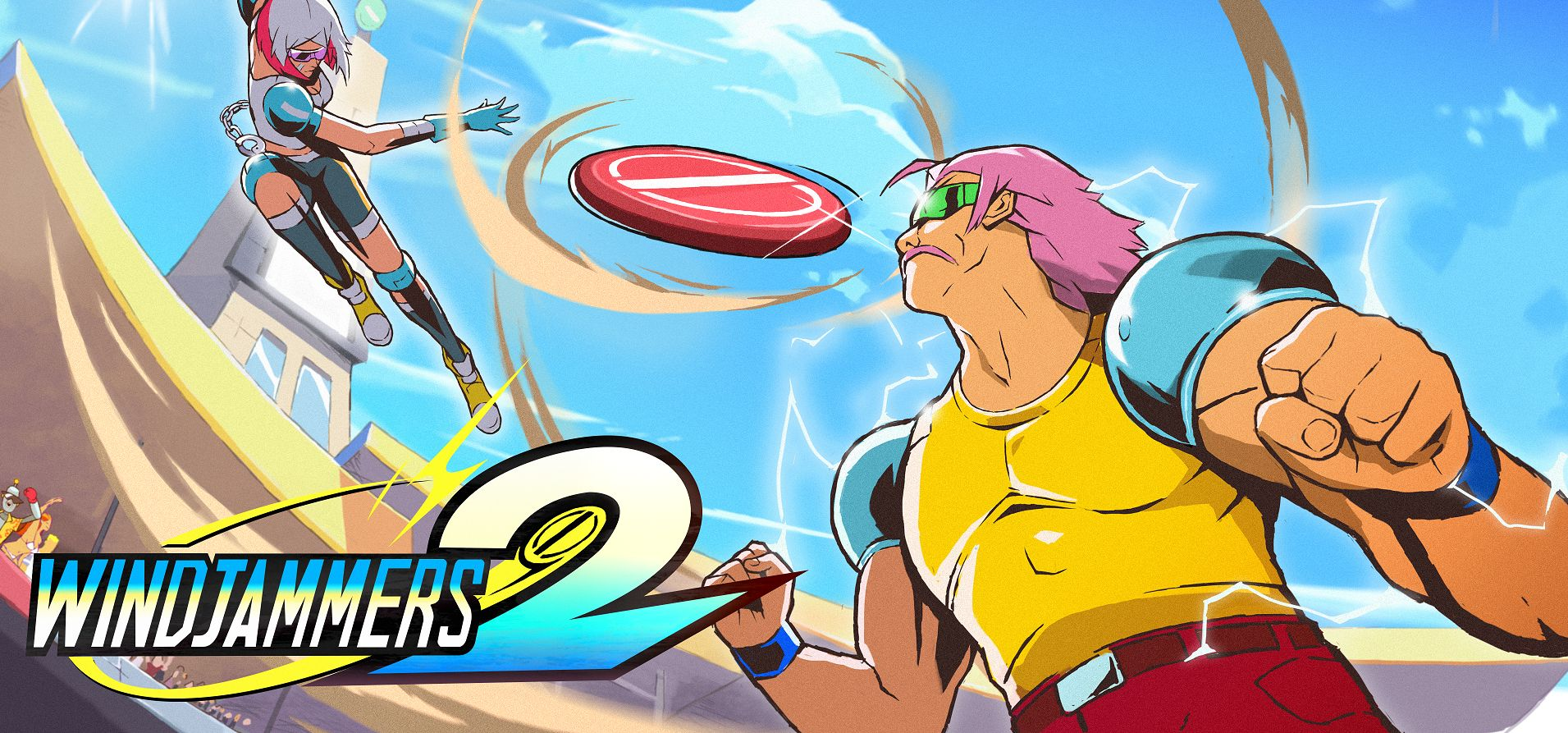 Windjammers 2 announced as Nintendo Switch console exclusive