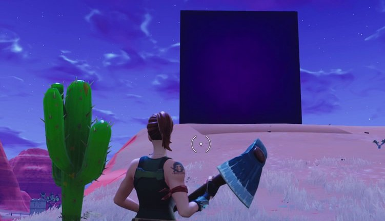 What S The Deal With The Purple Box In Fortnite Shacknews