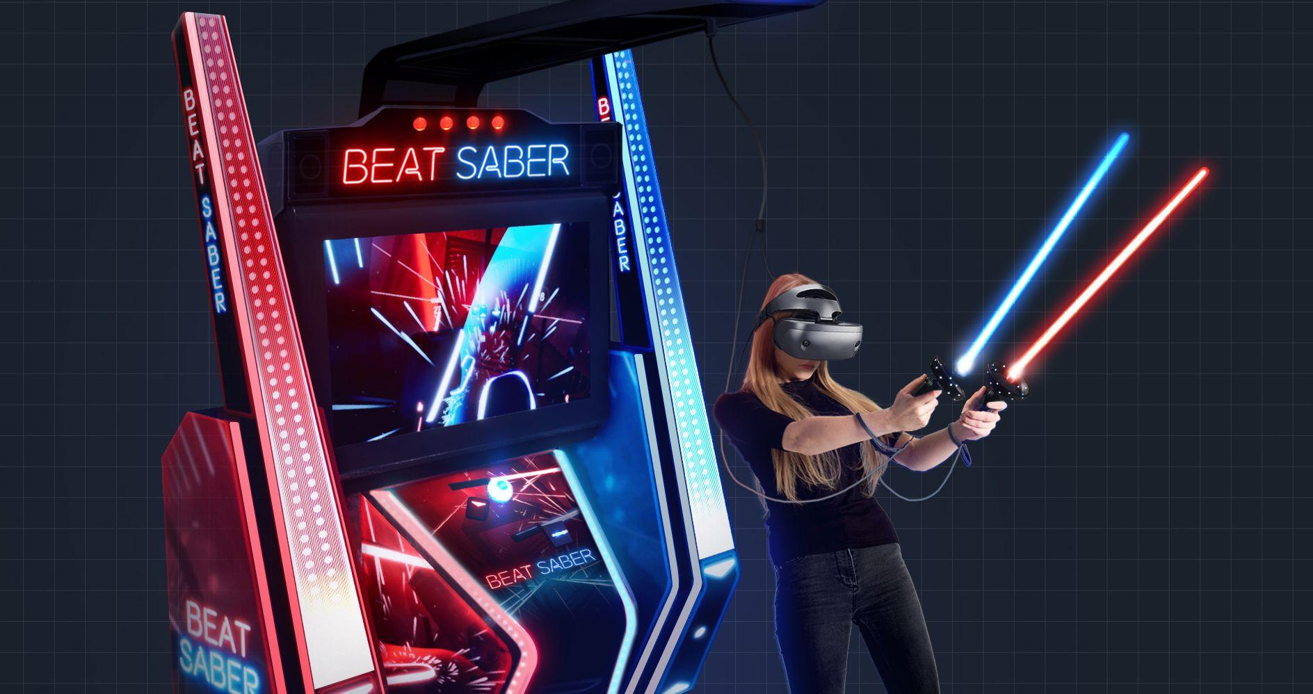 Beat Saber is officially bringing VR's killer app to arcades | Shacknews