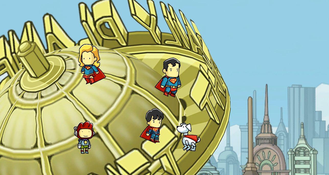 New Scribblenauts Mega Pack adds on bonus levels, new DC