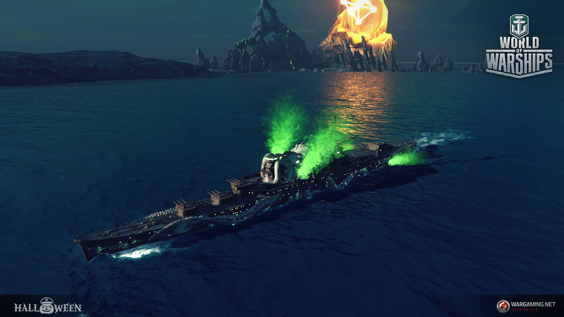 Wargaming reinvents World of Warships with subs and planes