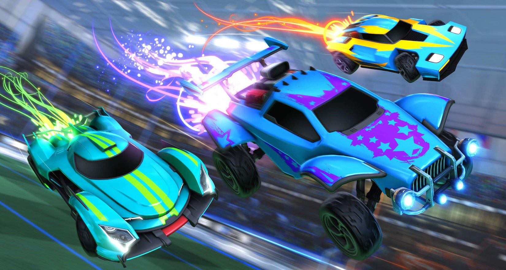 Rocket League Season 9 update with Hot Wheels Rivals Arena