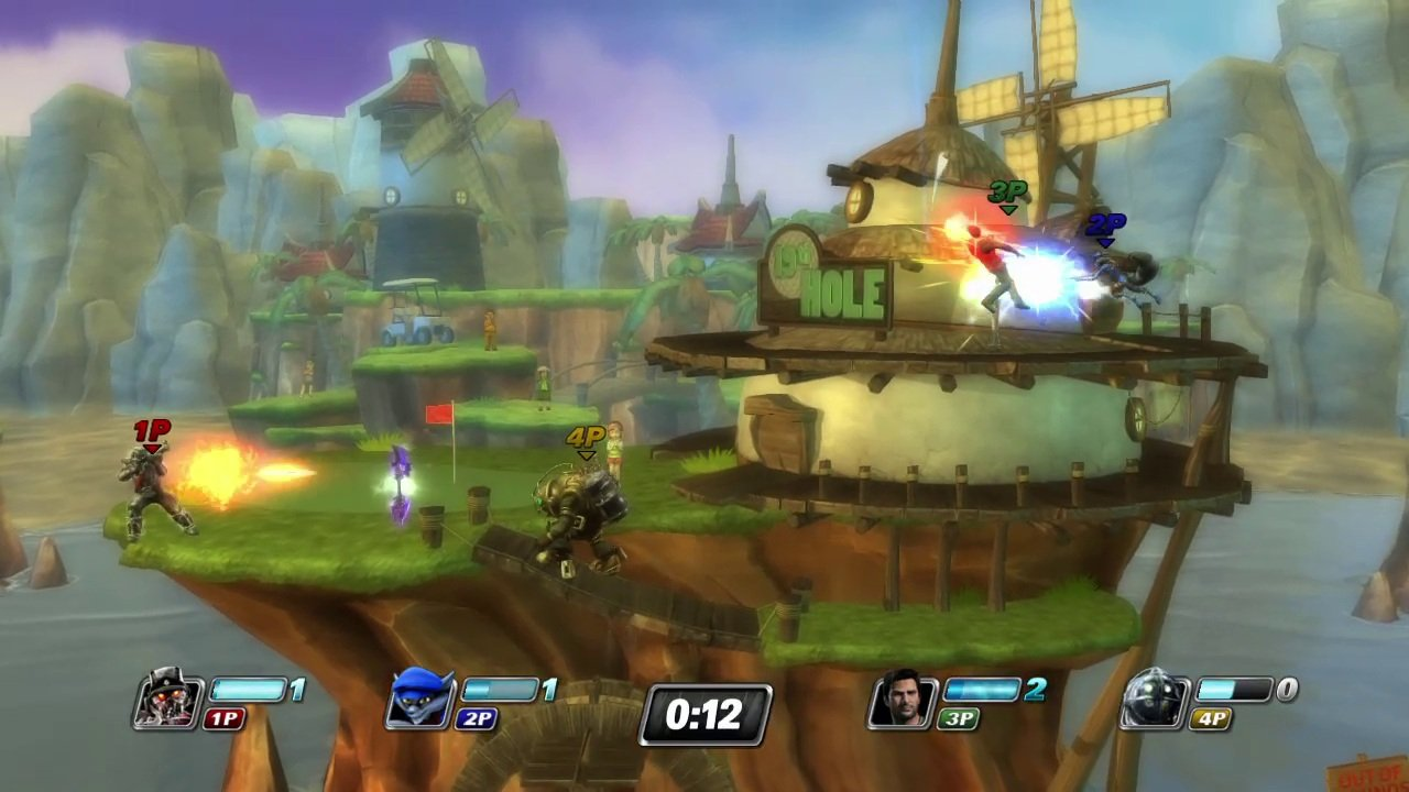PlayStation All-Stars, Twisted Metal, and Sound Shapes PS4