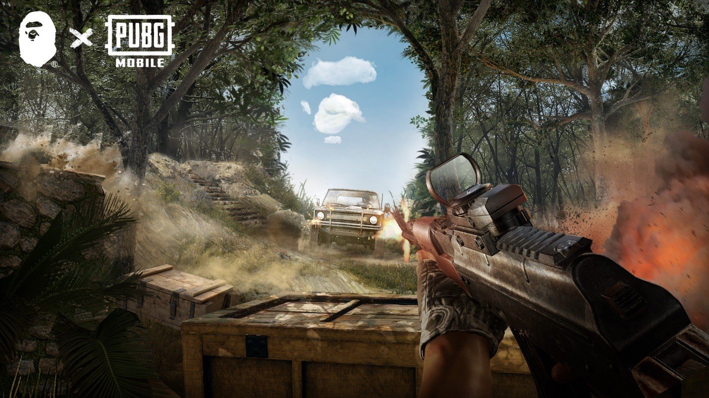 Pubg Mobile X A Bathing Ape Collab Includes Branded Hoodie