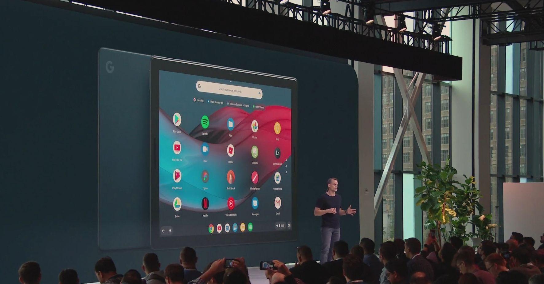 New Google Pixel Slate tablet represents evolution of Chrome