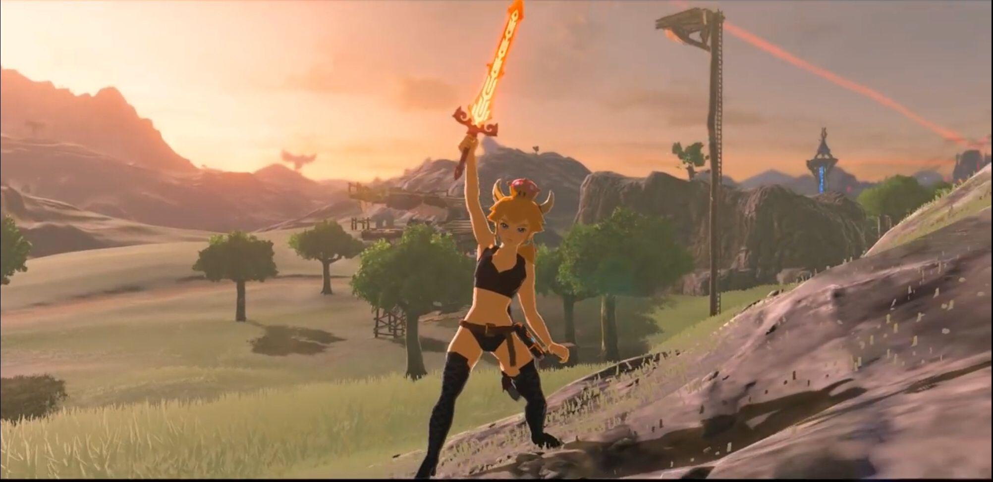 New Mod Adds Playable Princess Zelda to Zelda Breath of