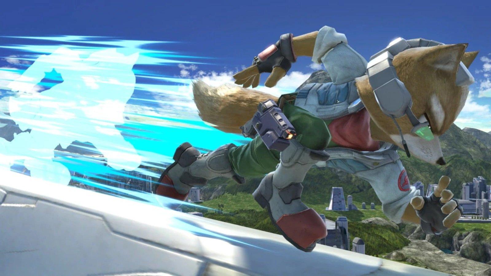 super smash bros ultimate character profiles fox shacknews