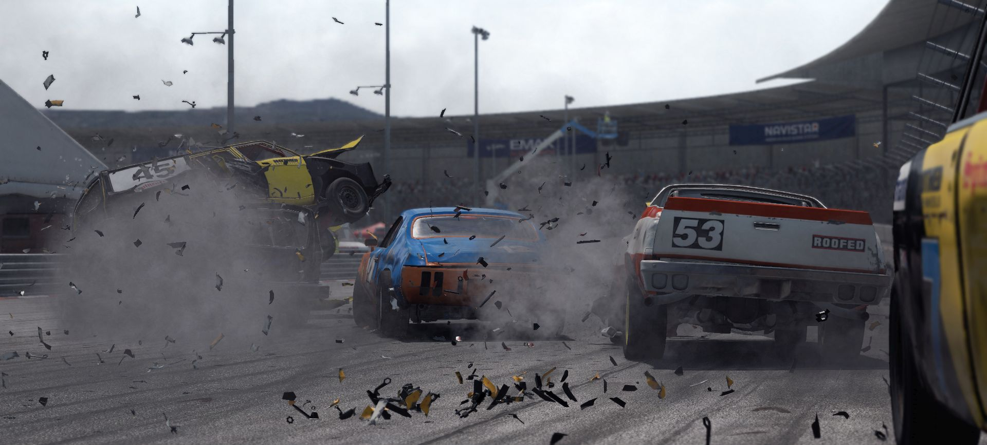 Wreckfest console launch delayed indefinitely for quality
