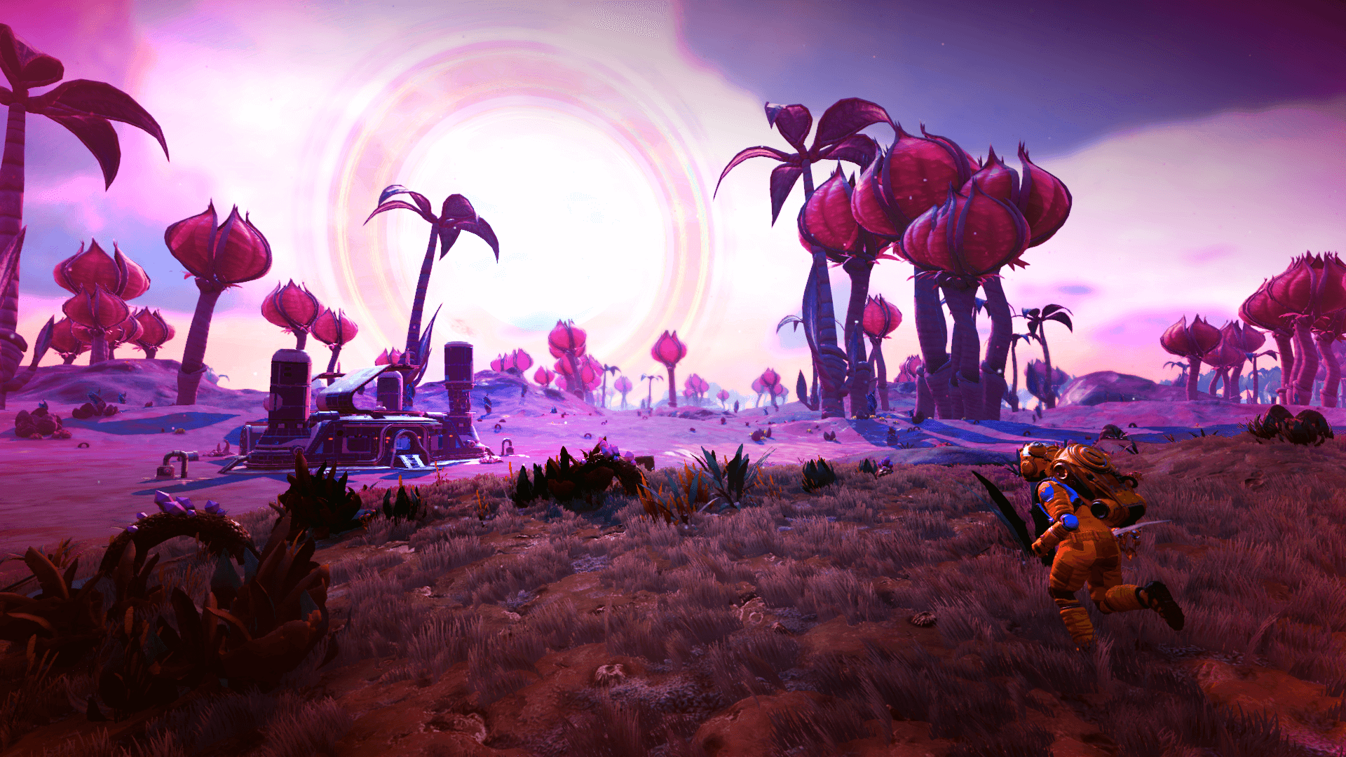 No Man's Sky Development Update 7 brings carnivorous plants and Patch 1.65 notes
