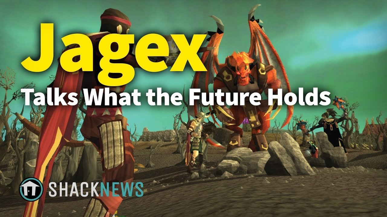 Simon Bull talks the future of Jagex and RuneScape as well
