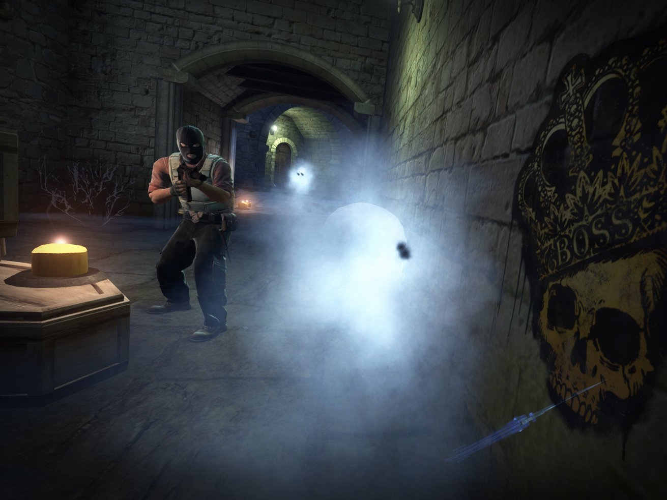 CS:GO 10/23 update decorates Cobblestone for Halloween