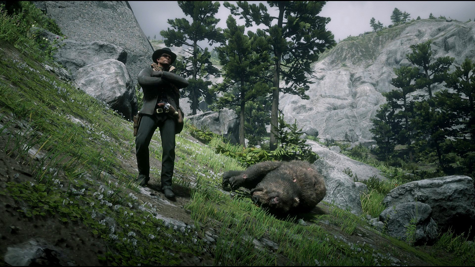 rdr2 legendary bear pelt