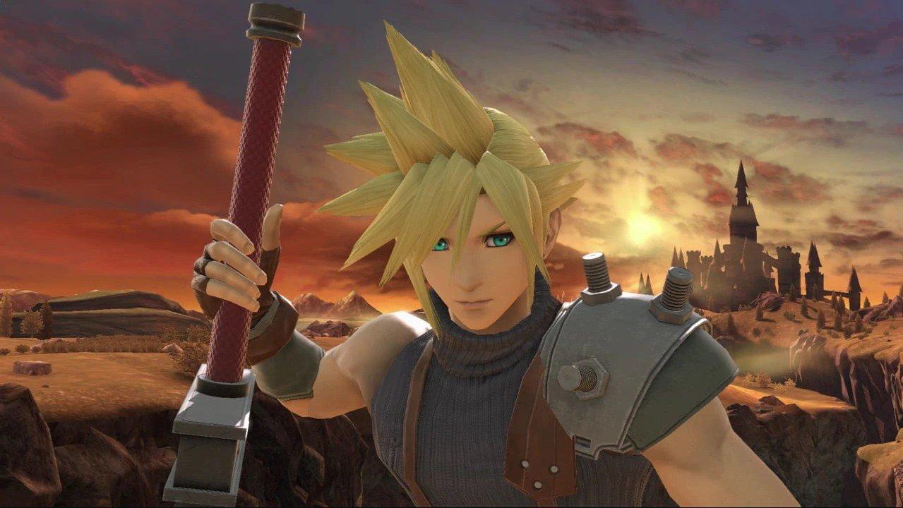 Super Smash Bros  Ultimate Character Profiles: Cloud | Shacknews