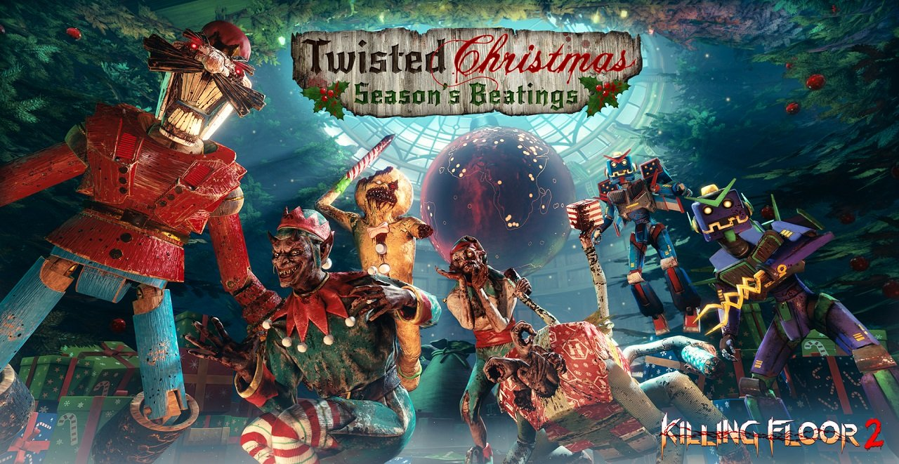 Killing Floor 2 Celebrates Twisted Christmas With Gary Busey In