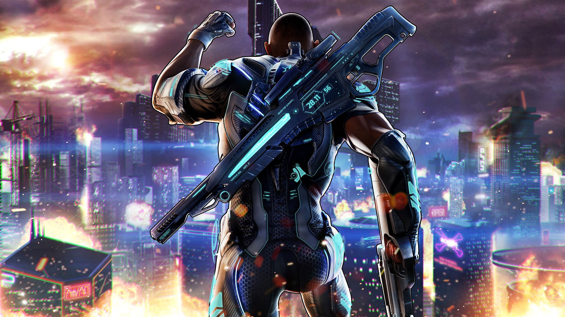 Crackdown Game
