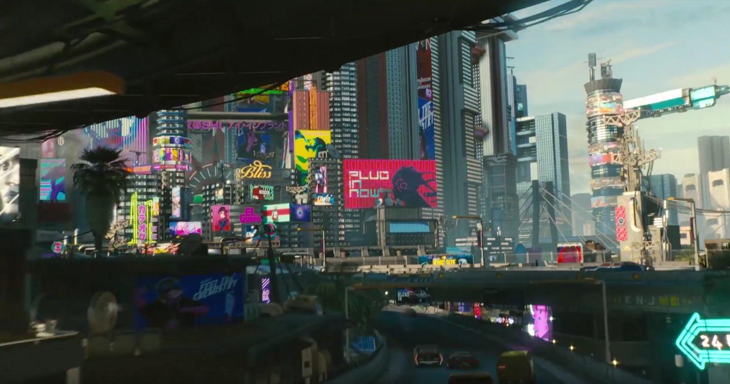 CD Projekt Red details size of Cyberpunk 2077 map | Shacknews
