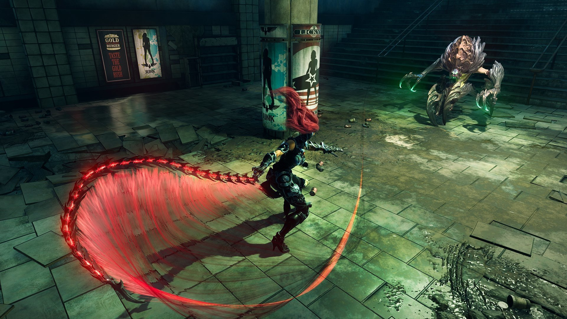 How to upgrade weapons and enchantments in Darksiders 3