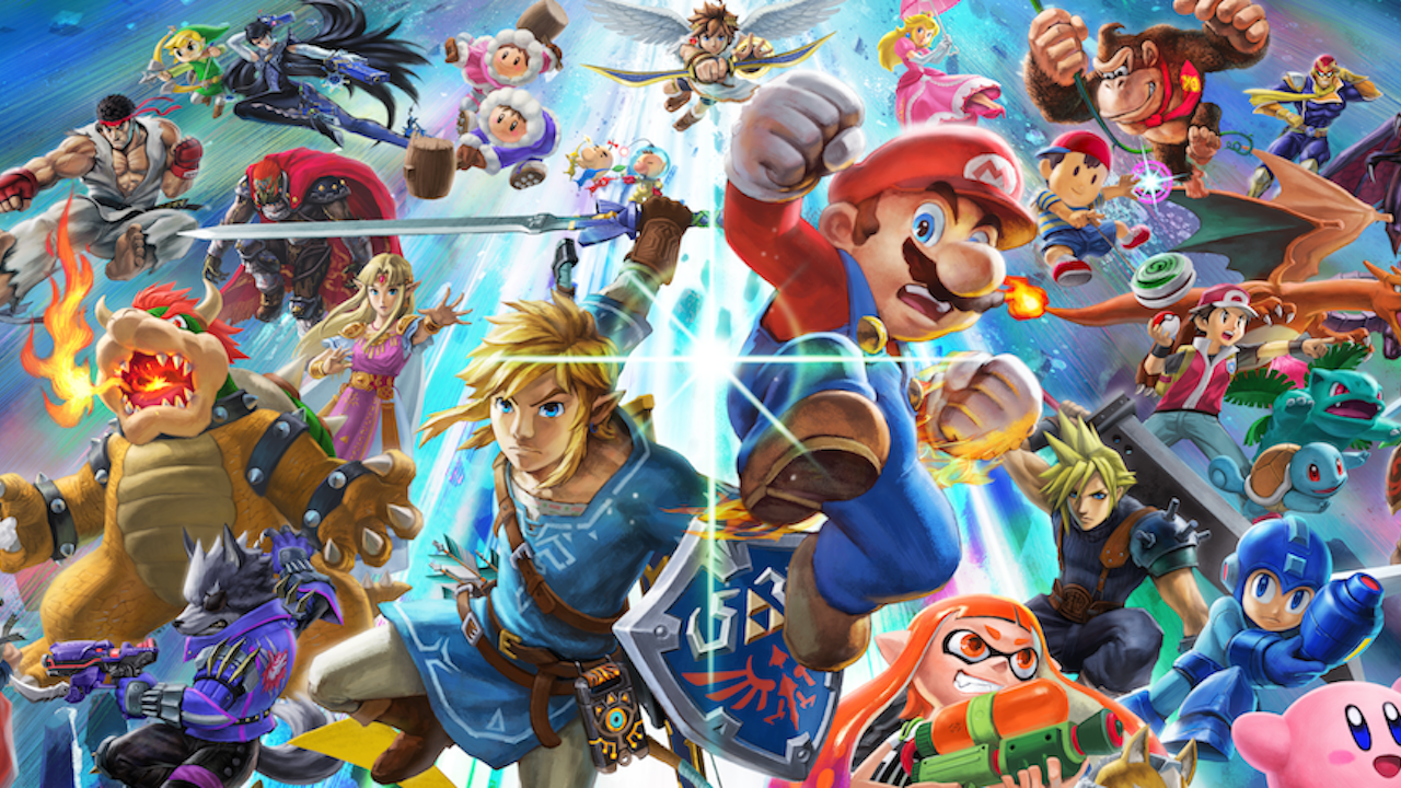 Dlc Characters In Super Smash Bros  Ultimate